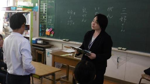 NPO法人がんサポートかごしま企画「がん教育~いのちの授業~模擬授業」